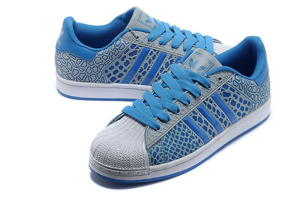 Womens Adidas Superstar Ii 3d Blue Floral Outlet